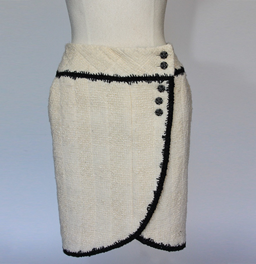 Vintage Chanel Wool Skirt - $100