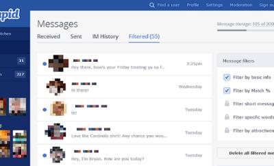 OKCupid inbox