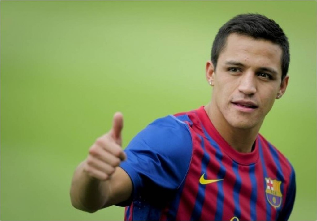 Alexis Sánchez  sexiest players 2014 world cup