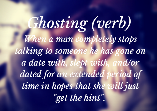 ghosting dating breakup
