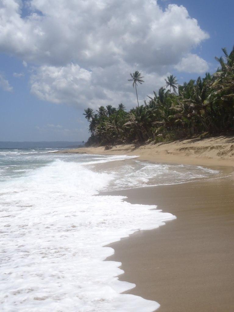 sandy beach rincon, puerto rico