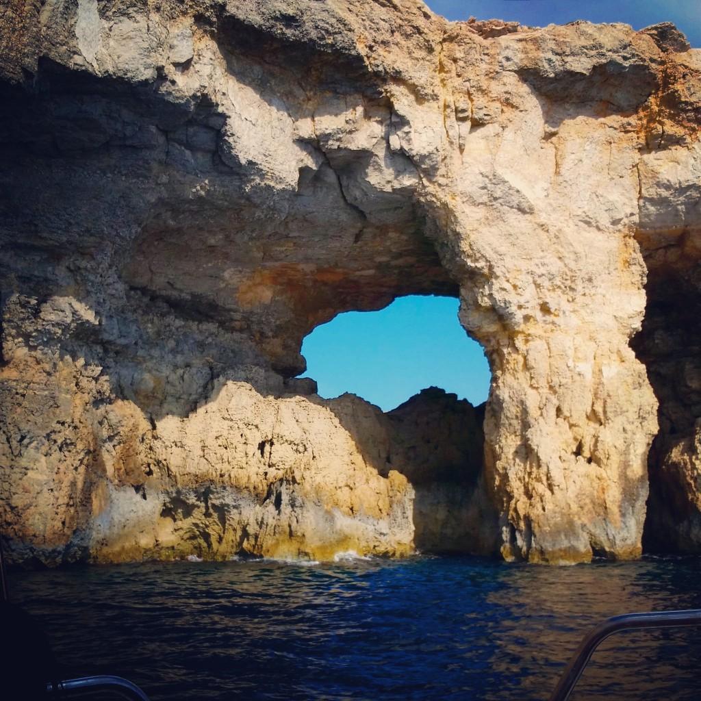 blue lagoon comino gozo malta