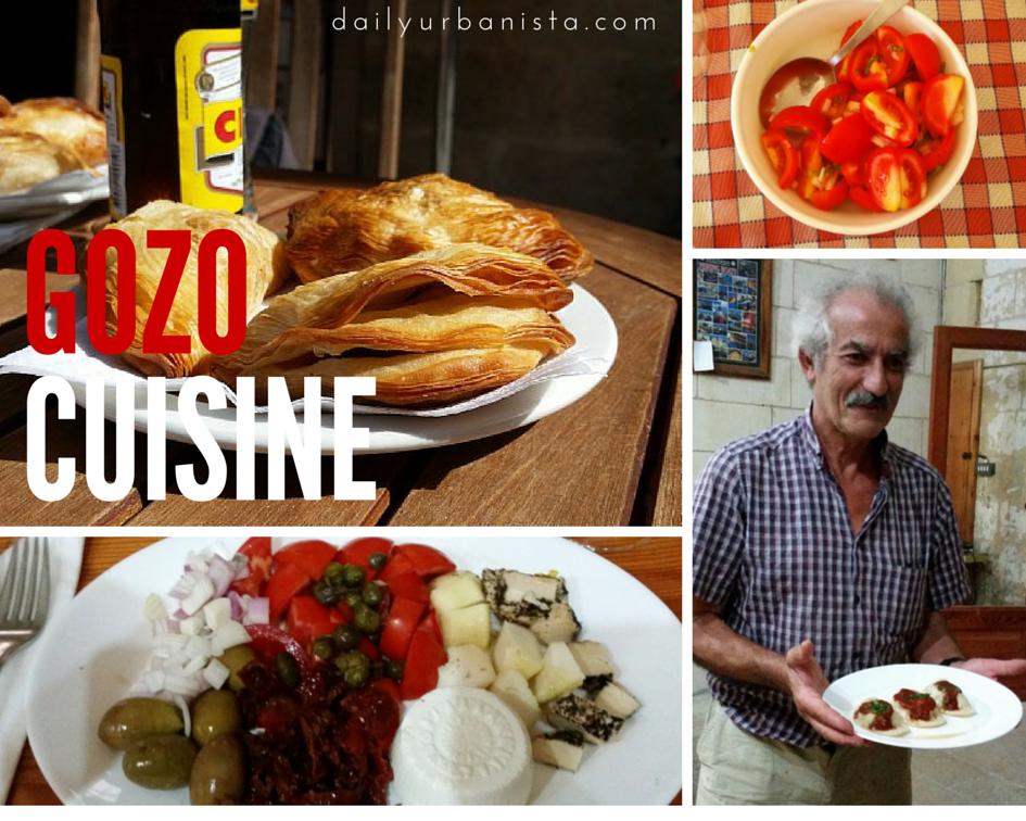 malta gozo cuisine food