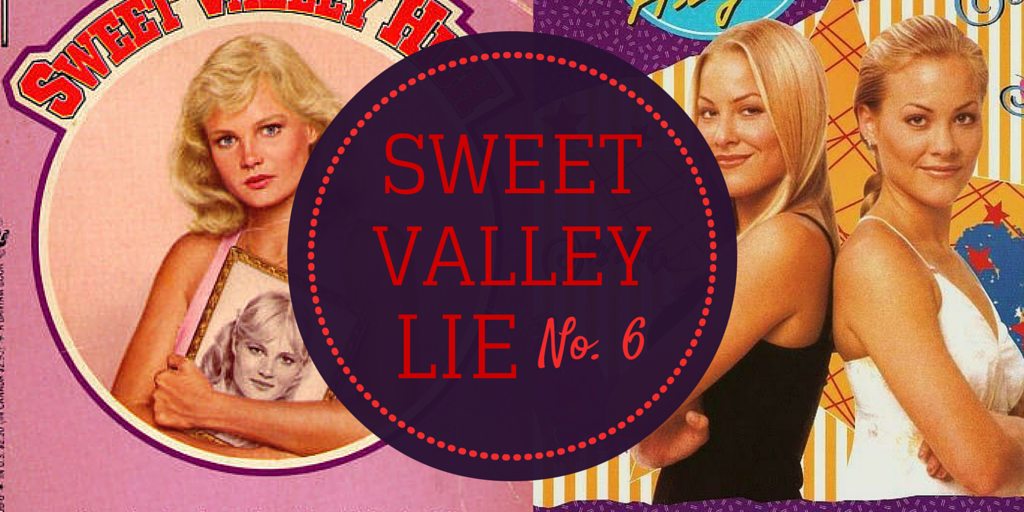 sweet valley high book cover