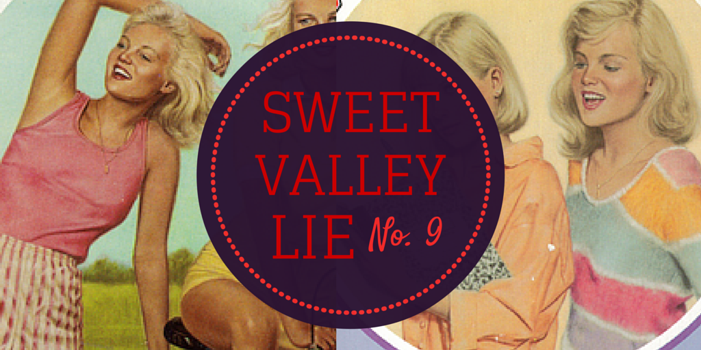 sweet valley high book humor
