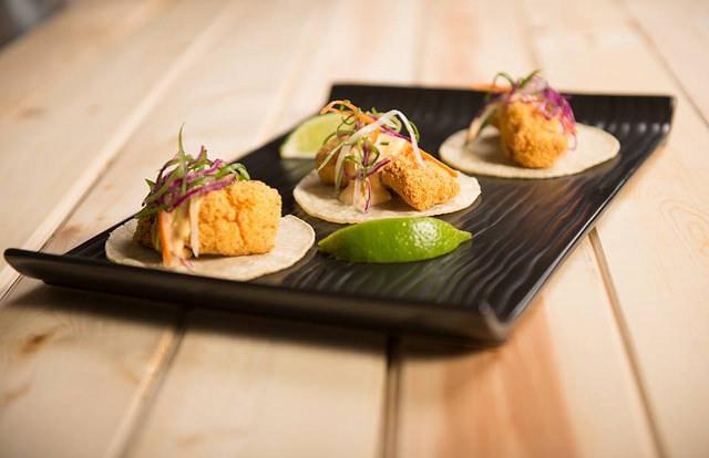 Luella's Southern Kitchen Crispy Catfish Tacos