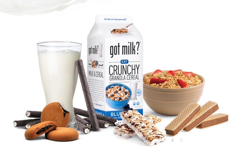 Got milk? snacks