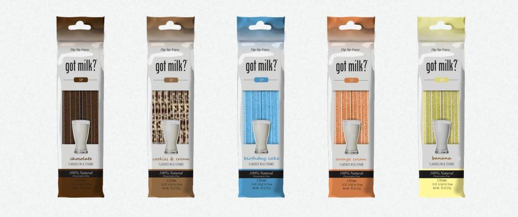 Got milk? straws