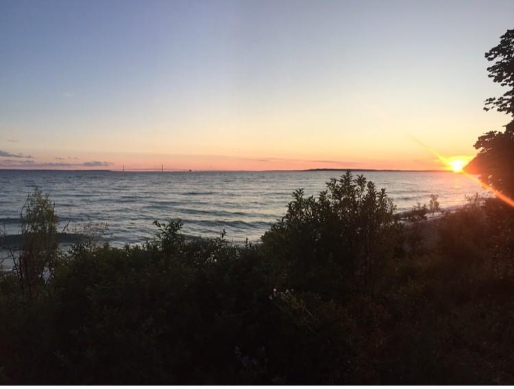 visit mackinac island travel tips sunset