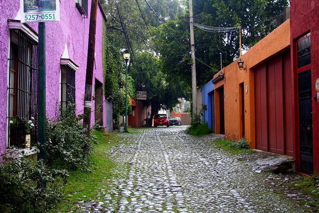 visiting Coyoacán