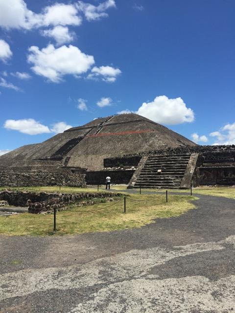 visiting mexico city Teotihuacán
