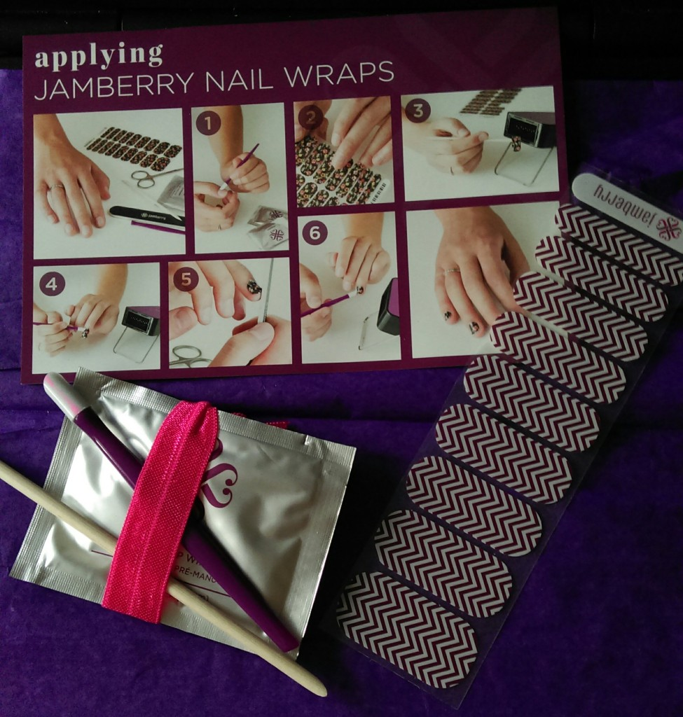 jamberry nail wraps kit