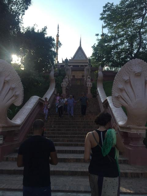 Phnom Penh Stairway
