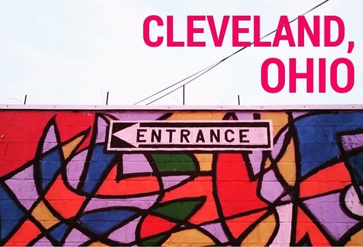 Visiting Cleveland Ohio