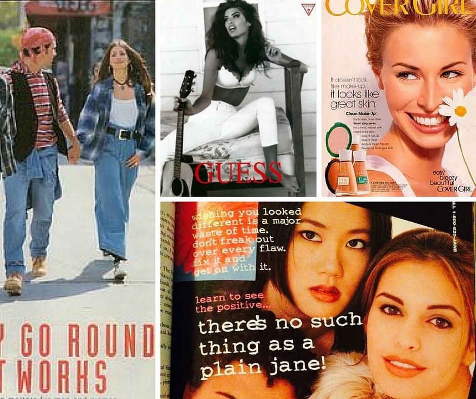 90s magazine ads seventeen