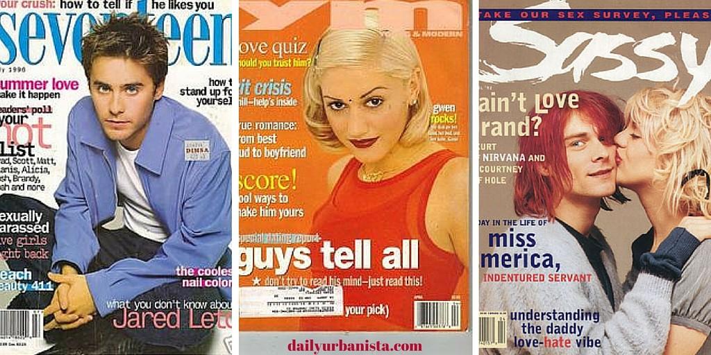 90s teen magazines