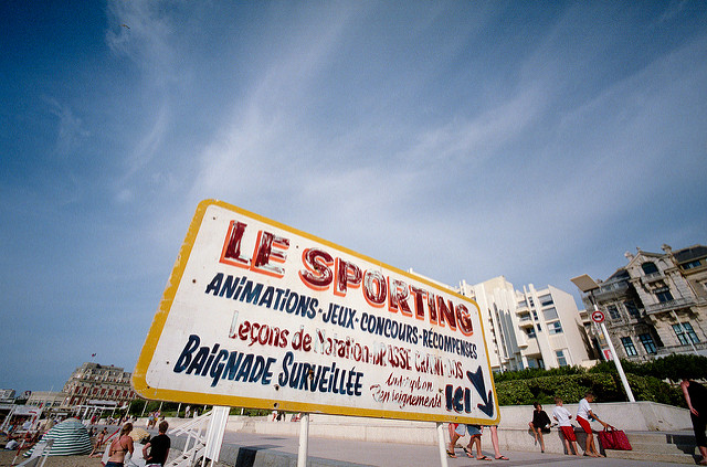 visiting biarritz, france