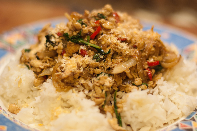 easy Gai Pad Grapow recipe