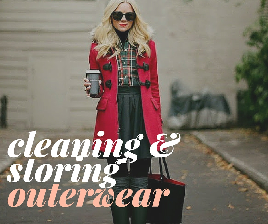 how to clean and store winter coat