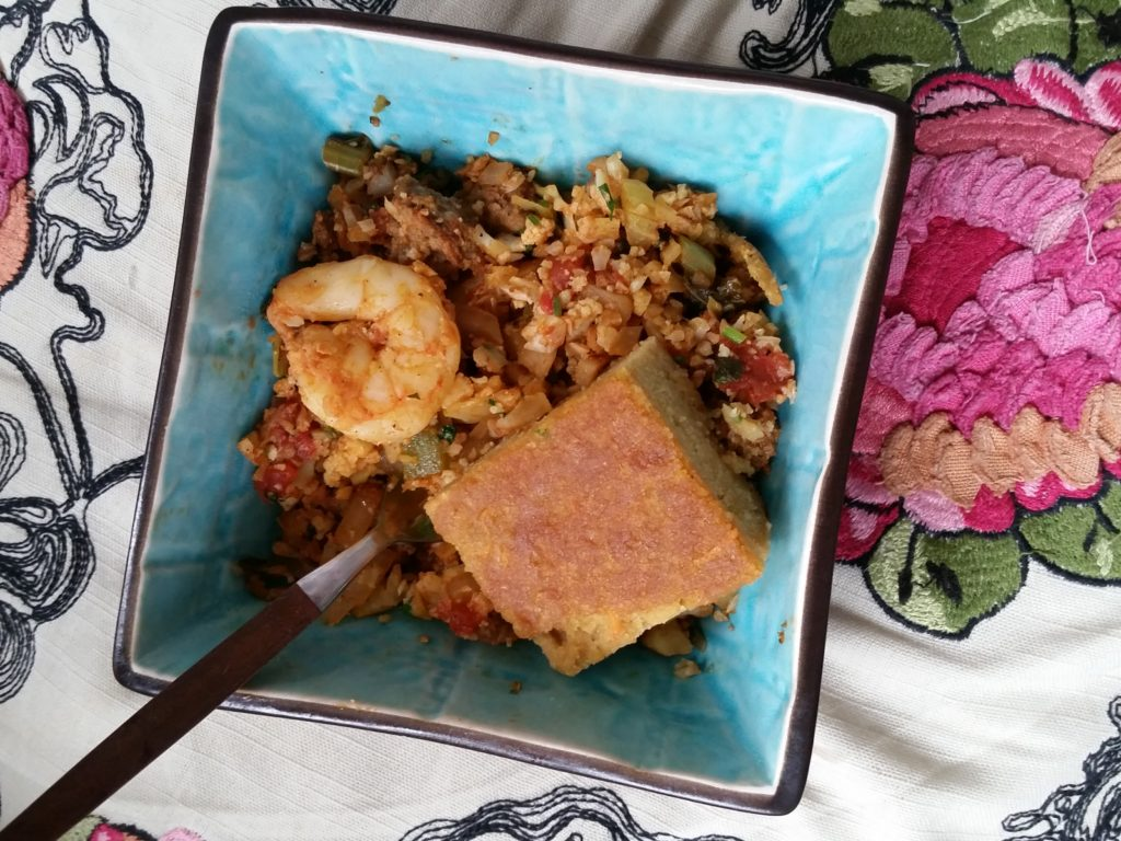 kitchfix review discount code Spicy Paleo Seafood Jambalaya