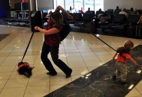 why i put my child on a leash