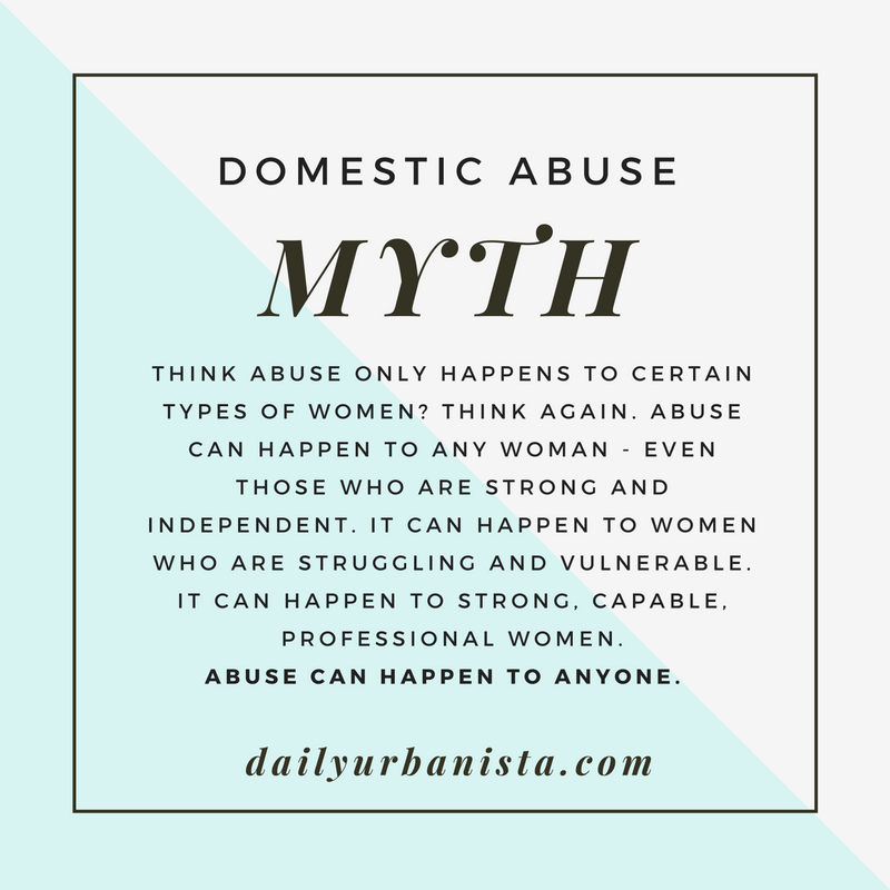 myths about domestic abuse